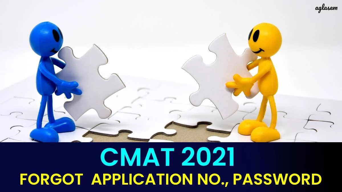 CMAT 2021 Forgot Application Number