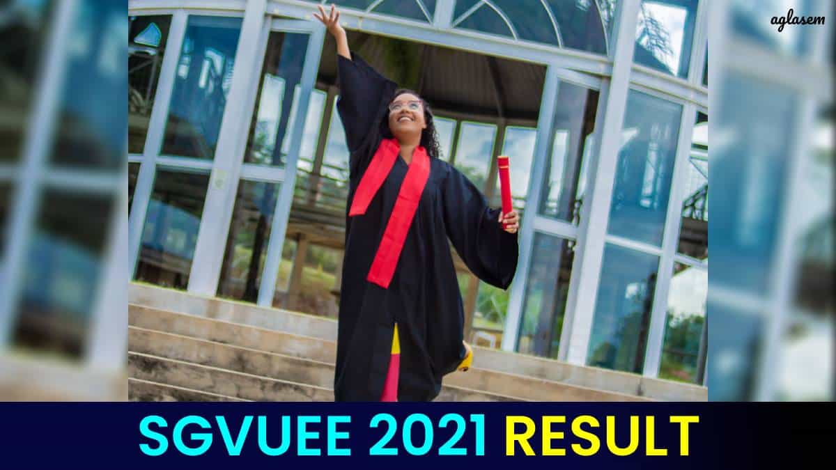 SGVUEE 2021 Result