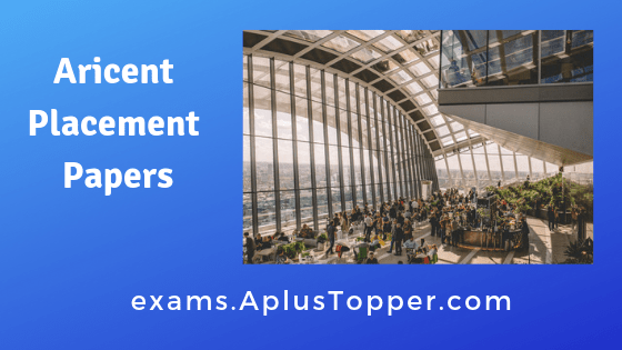 Aricent Placement Papers