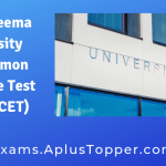 Rayalaseema University PG Common Entrance Test