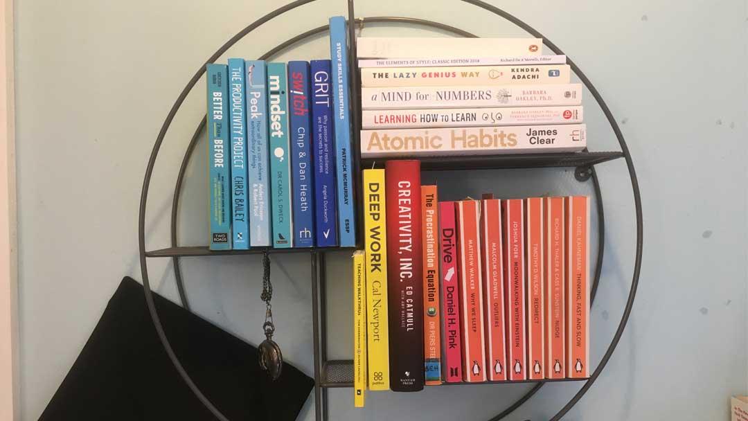 My bookshelf: best study books