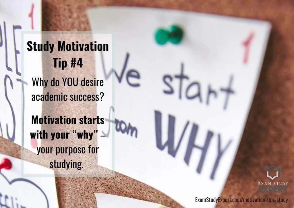 Study motivation tips