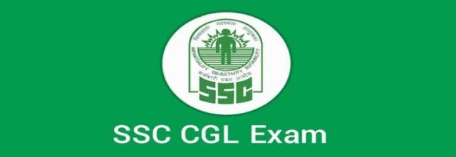 SSC CGL Examination paper