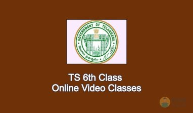 TS 6th Class Online Video Classes 2020 - Learn From Home