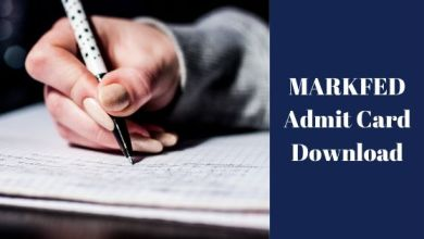 Photo of MARKFED Admit Card Download