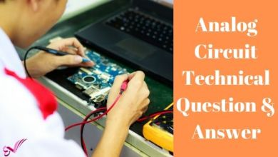Photo of Analog Circuit Technical Question & Answer
