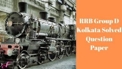 Photo of RRB Group D Kolkata Solved Question Paper