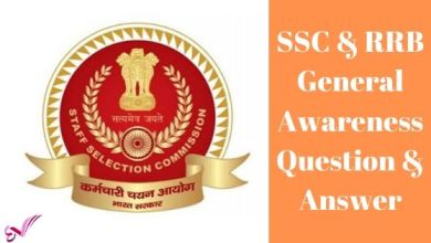 Photo of SSC & RRB General Awareness Question & Answer