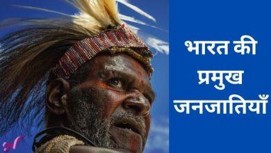 Photo of भारत की प्रमुख जनजातियाँ