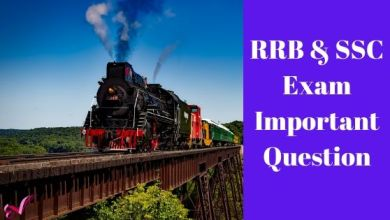 Photo of RRB & SSC Exam Important Question