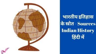 Photo of भारतीय इतिहास के स्रोत – Sources Indian History हिंदी में