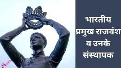 Photo of भारतीय प्रमुख राजवंश व उनके संस्थापक