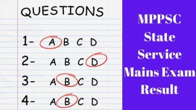 Photo of MPPSC State Service Mains Written Exam Result