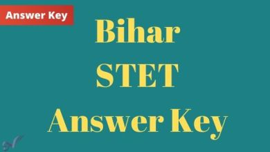 Photo of Bihar STET Answer Key Download 2020