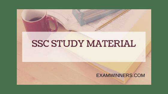SSC NOTES PDF FREE DOWNLOAD