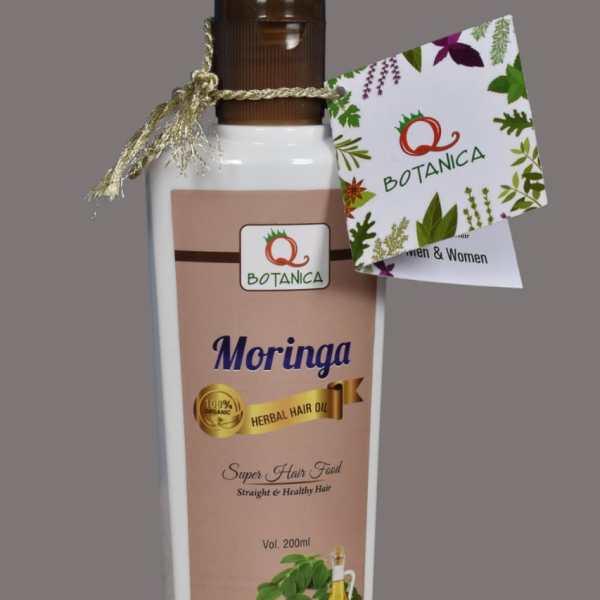 Moringa Herb Infused Hair Oil