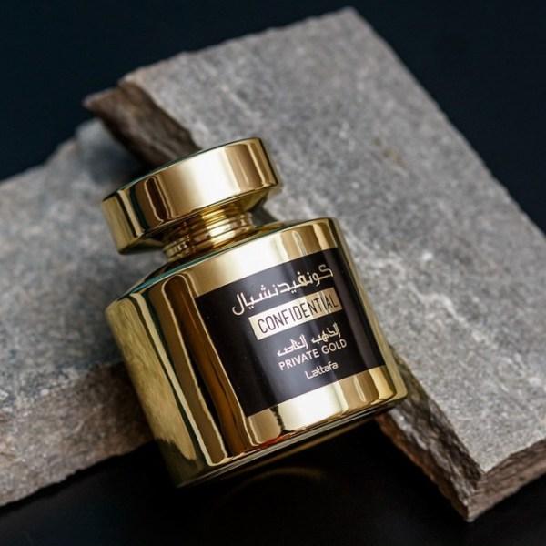 lattafa confidential gold