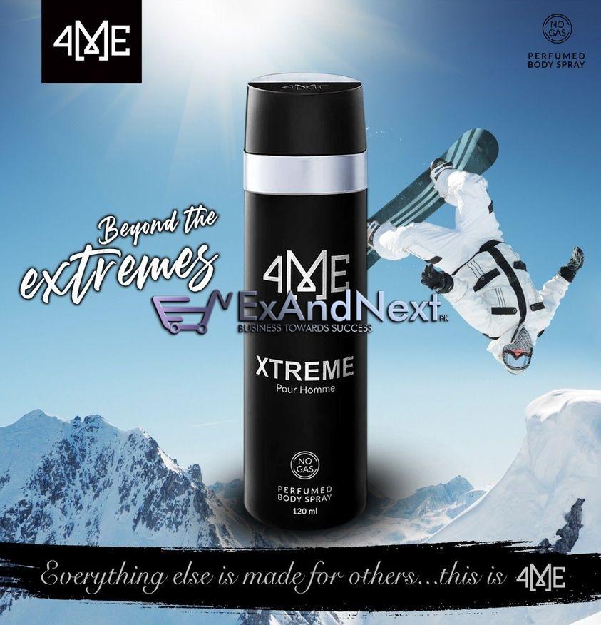 xtreme body spray