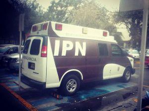 ambulancia examen de admision