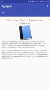 Guia interactiva EGEL Ingenieria en SIstemas ISOFT