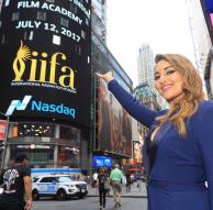 Sonakshi Sinha at Times Square for IIFA 2017