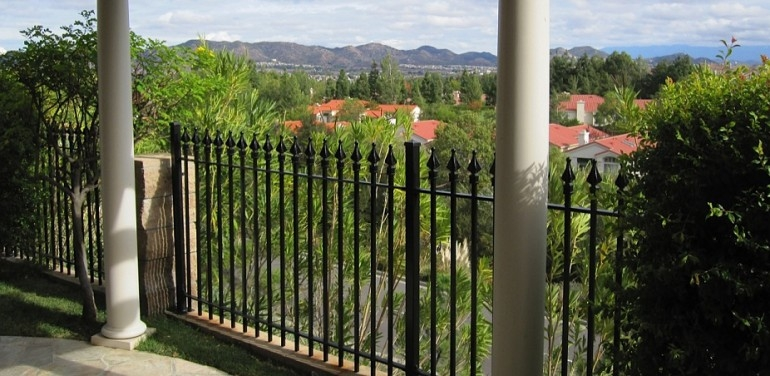 Timthumb Excalibur Fence Iron Works   Wrought Iron Railings Home Depot   Brown   Ironsmith   Staircase   Fancy   Banister