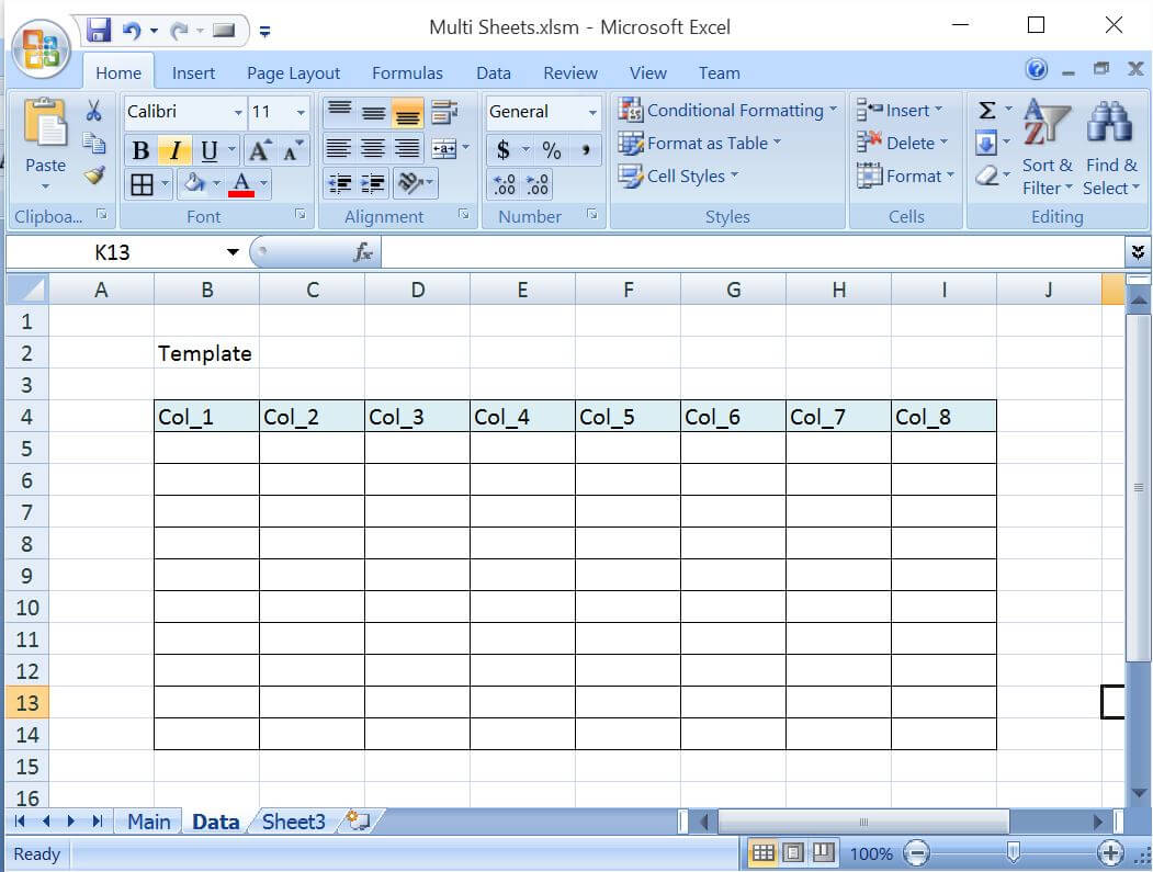 Unhide All Worksheet Excel Vba