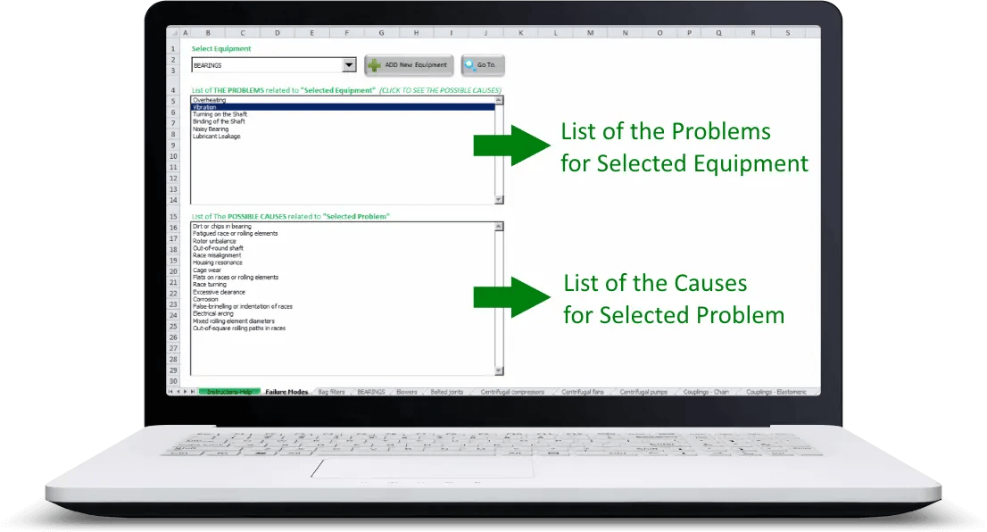 Common Failure Modes Screenshot 1