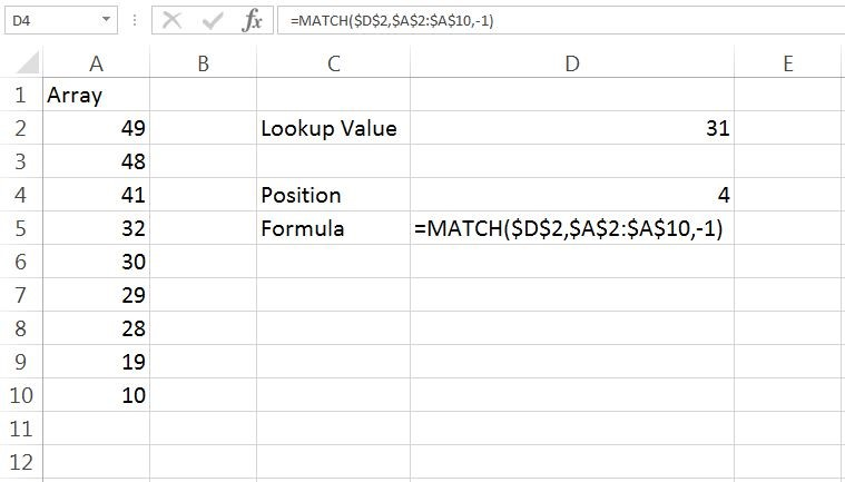 Match Example 3
