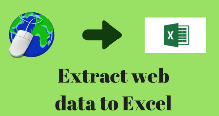 How to extract data from a website using Microsoft Excel