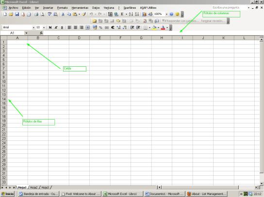 Primeras fórmulas en Excel