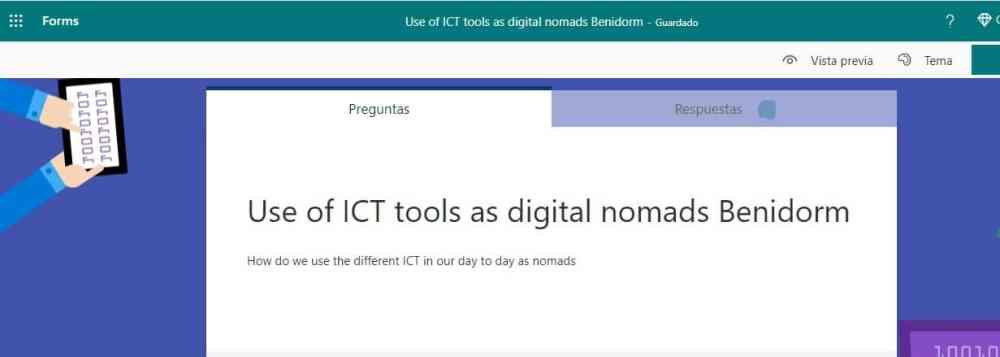 Uso de las TIC y teletrabajo nómada