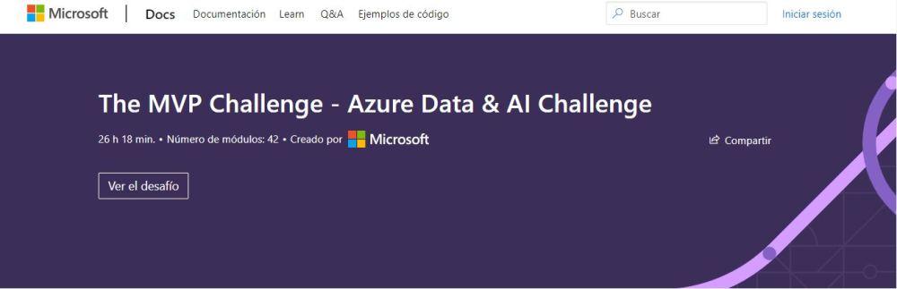 MVP Challenge Azure Data & AI