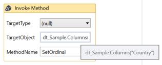 UiPath Reorder Datatable Columns 1