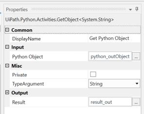 UiPath Execute Python Script 8