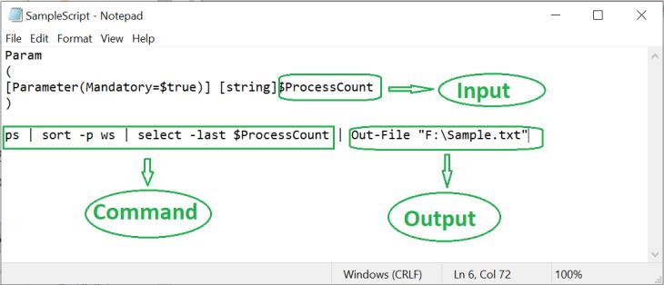 UiPath PowerShell script 8