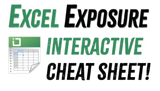 Learn Excel Online | Excel Exposure | Free Excel Tutorial