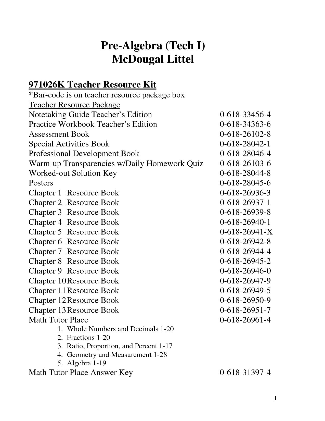 Holt Mcdougal Algebra 2 Worksheet Answers