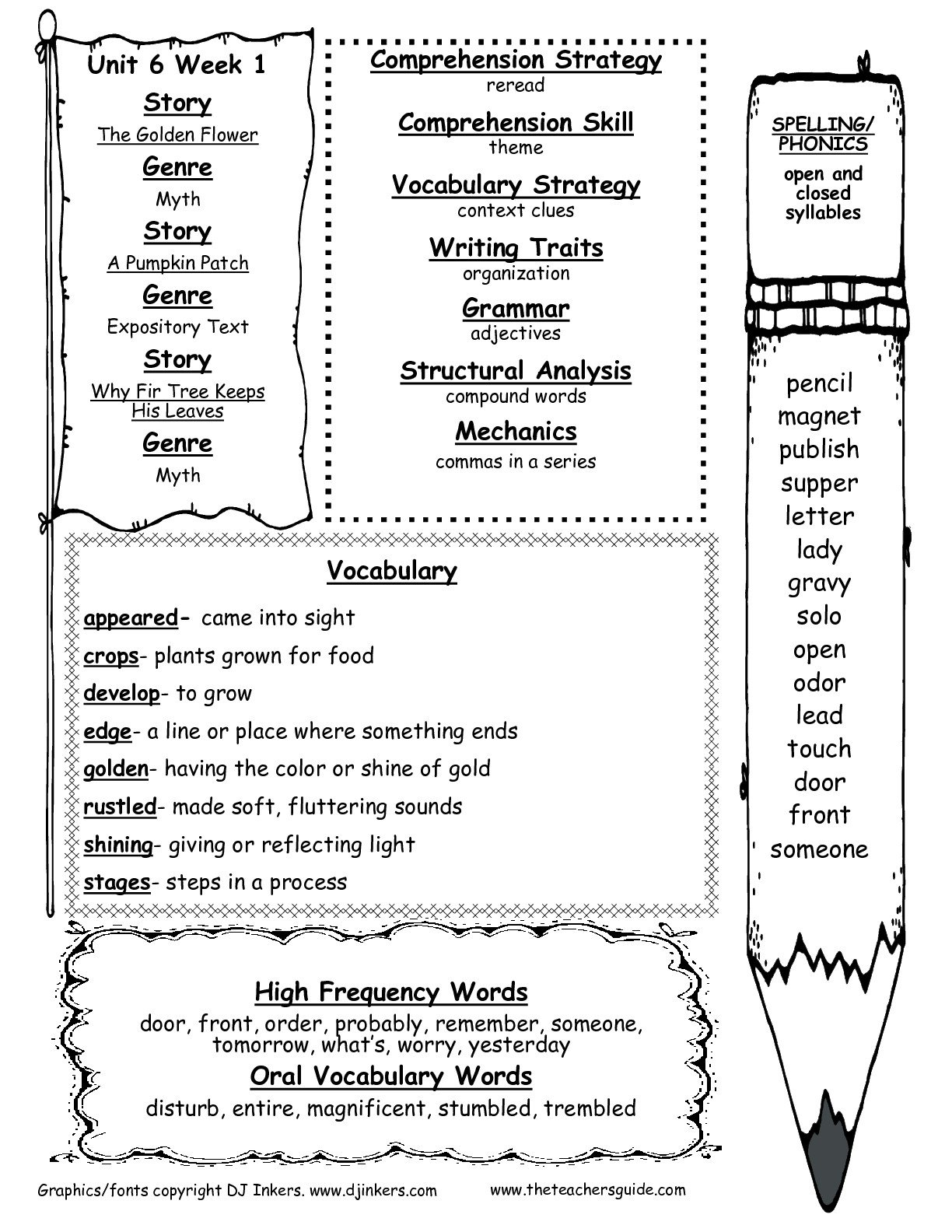 Fourth Grade Sight Words Worksheets