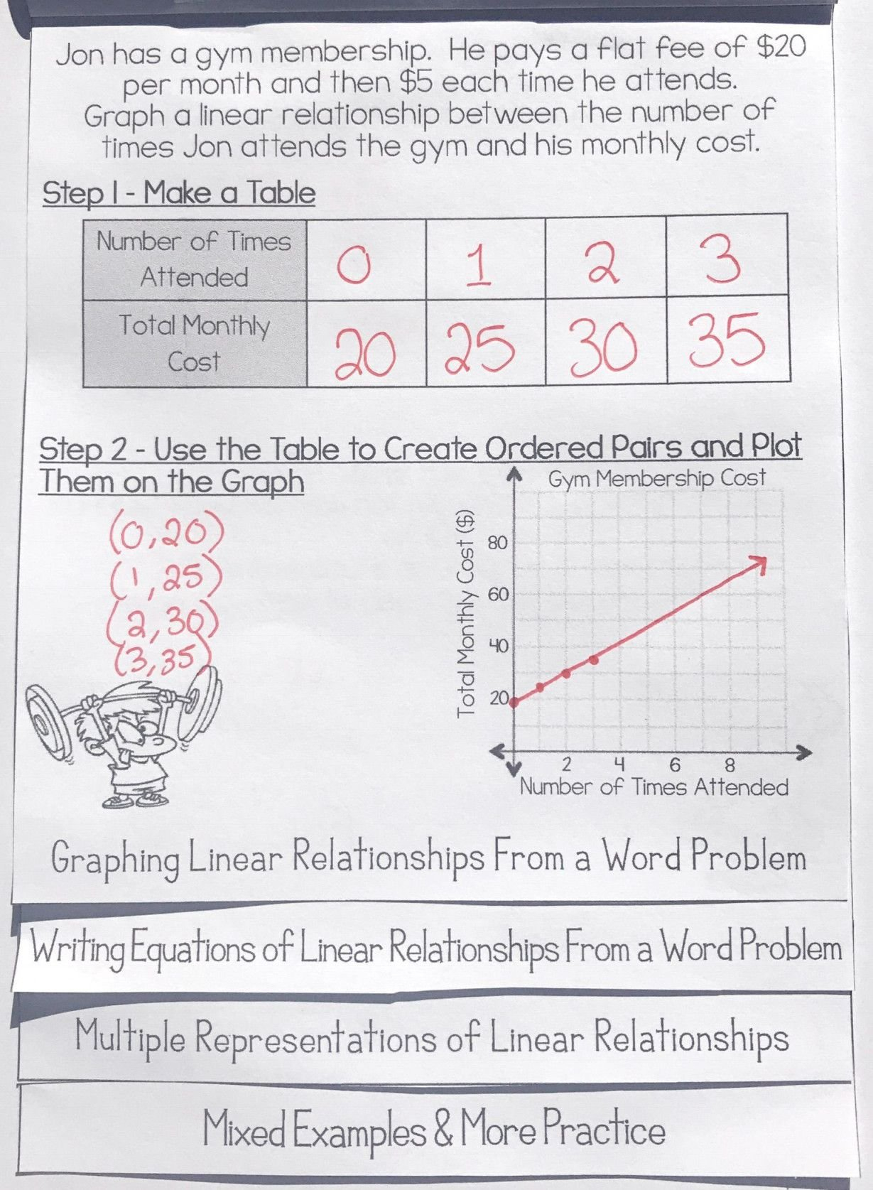 Proportional Relationship Worksheets 7th Grade