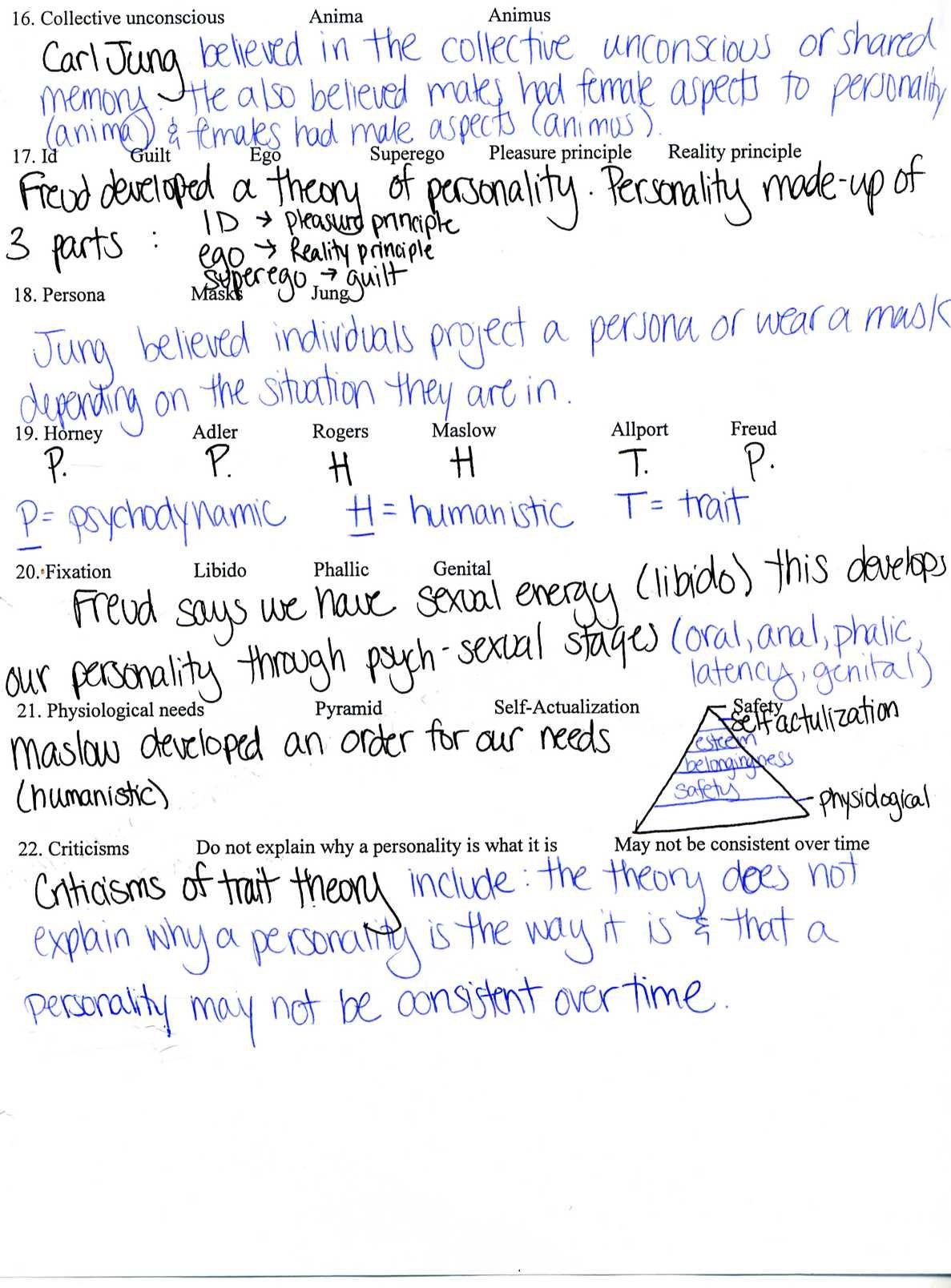 Crash Course Psychology Worksheets Excelguider