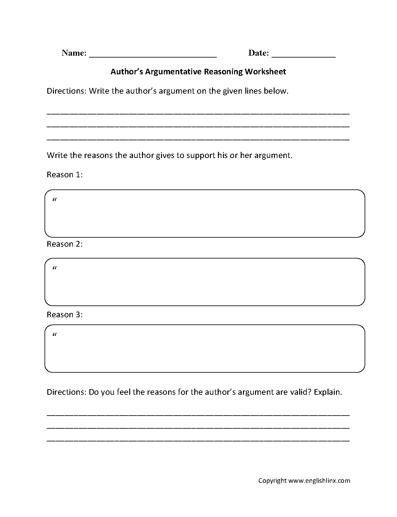 9th Grade Reading Comprehension Worksheets