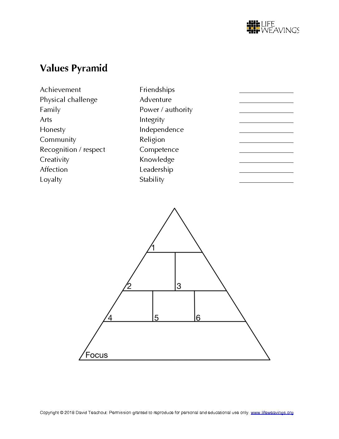 Resources Life Weavings With Honesty Worksheets