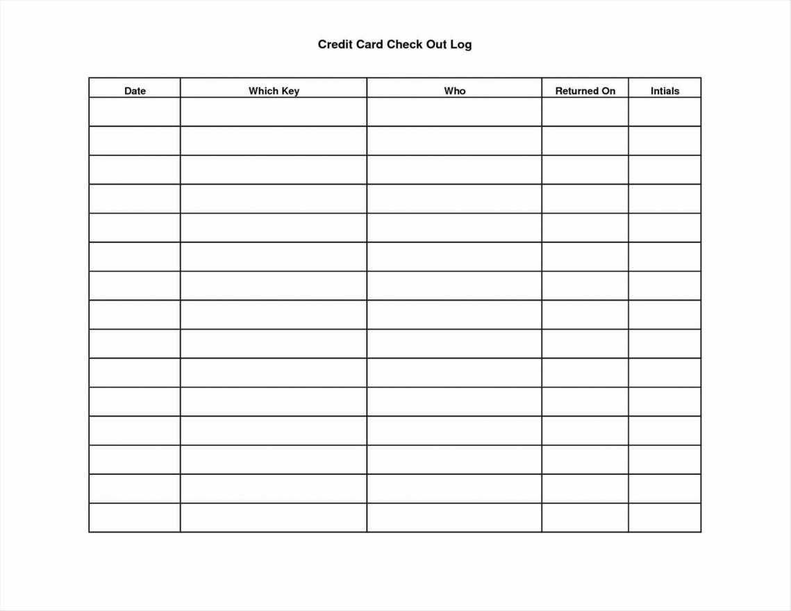 Blank Trial Balance Sheet