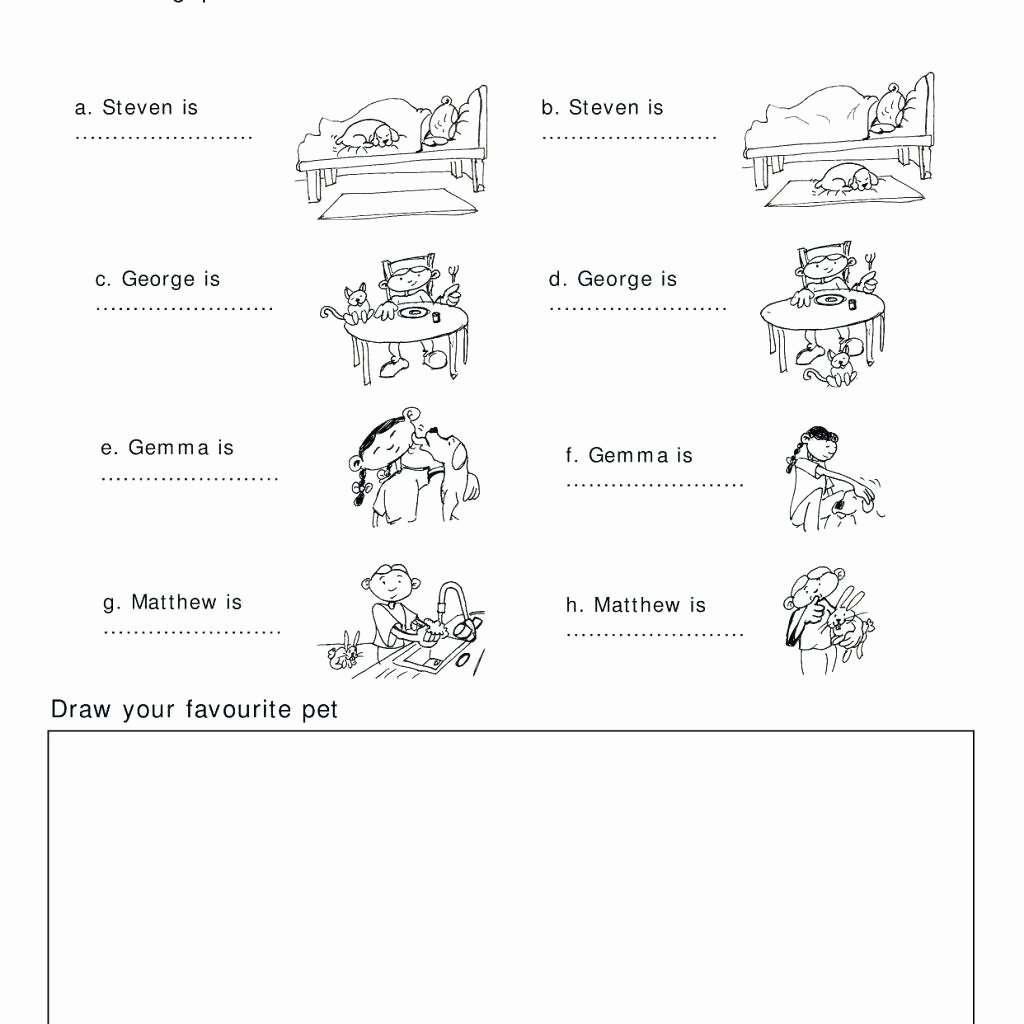 Bullying Worksheets For Kindergarten