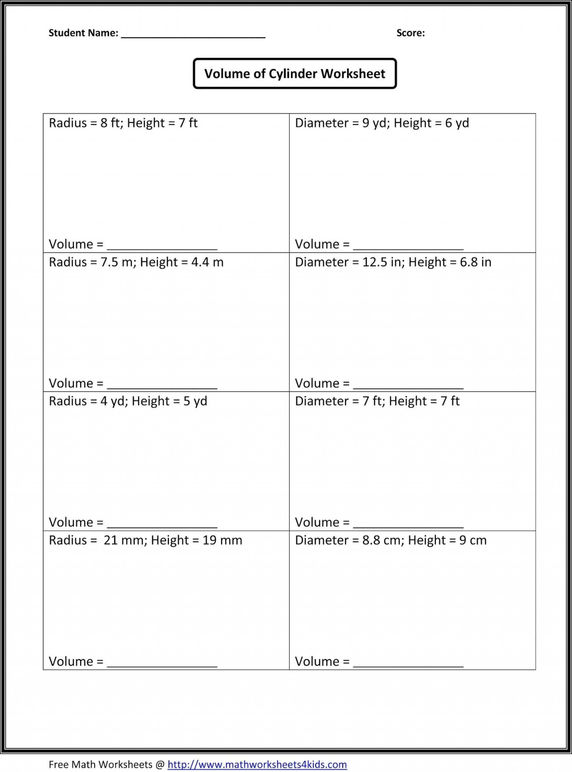 Seventh Grade Common Core Math Worksheets