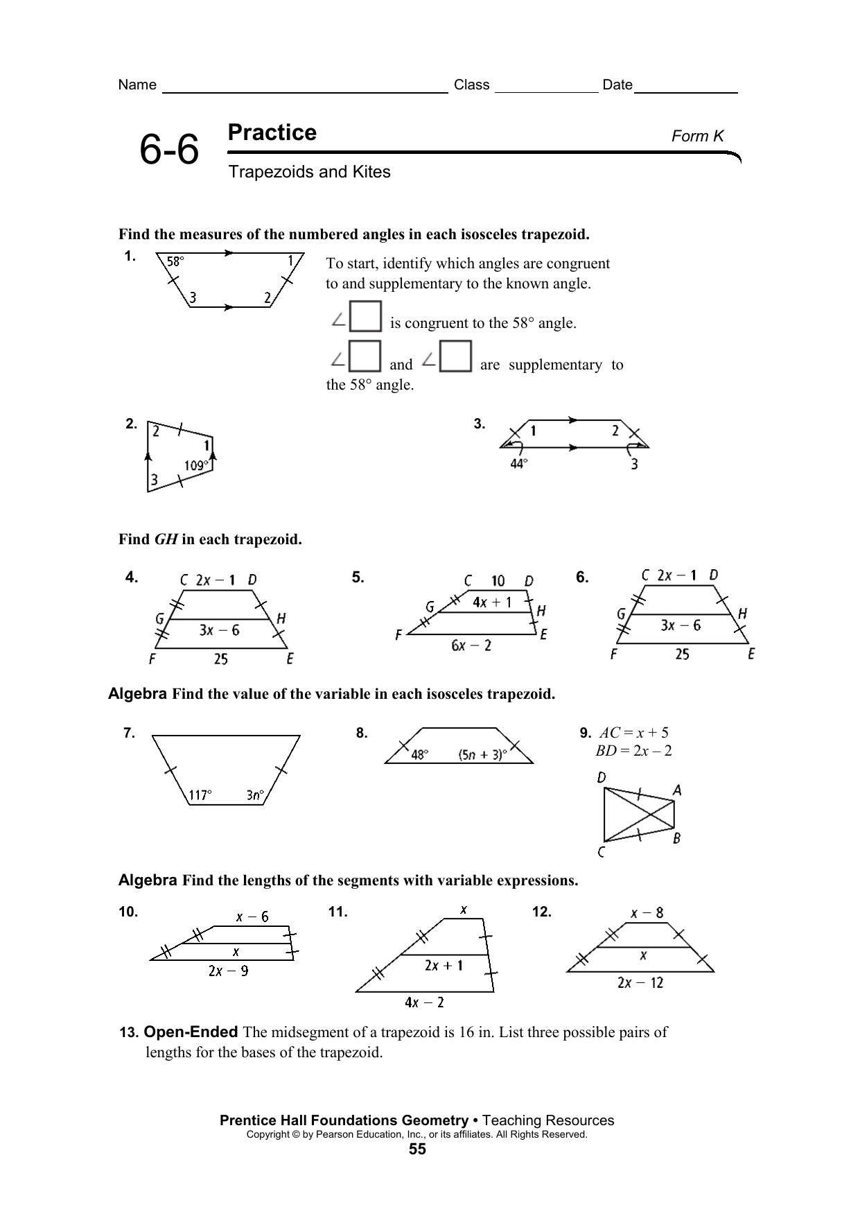 Kites And T Zoids Worksheet Answers