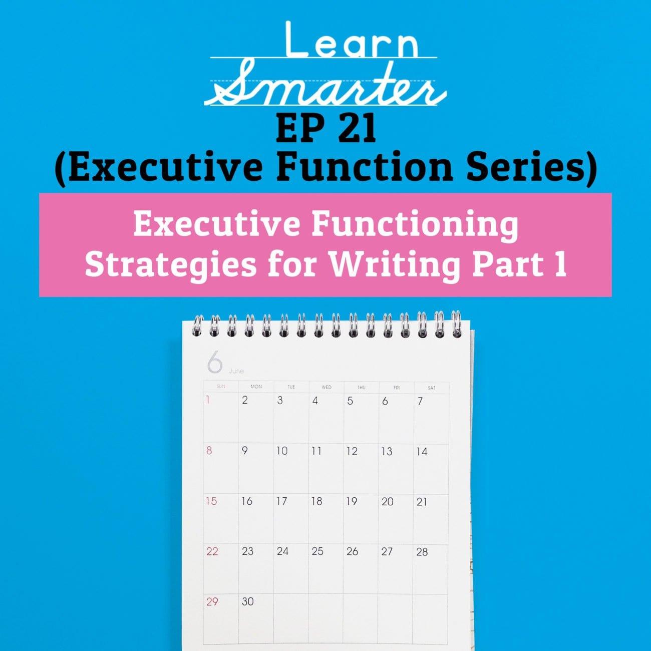 Executive Functioning Worksheets