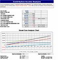 Break Even Excel Template simple breakeven analysis template for – Break Even Excel Template
