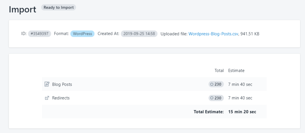 3 - upload WordPress posts to Shopify Excelify